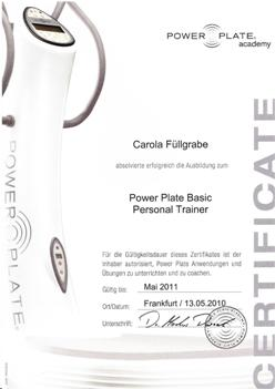 Power Plate Personal Basic Trainer