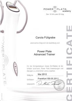 Power Plate Advanced Trainer